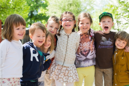 Kinder Gruppenbild