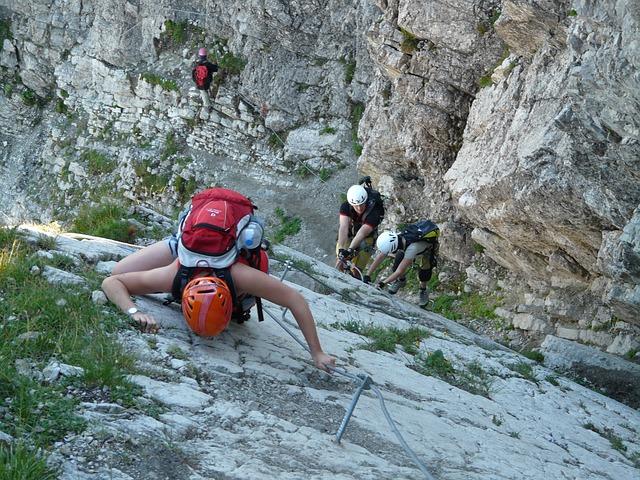 Klettersteig Symbol