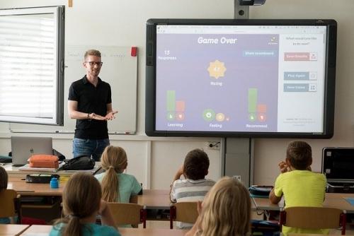 Lehrer Schule Digitalisierung