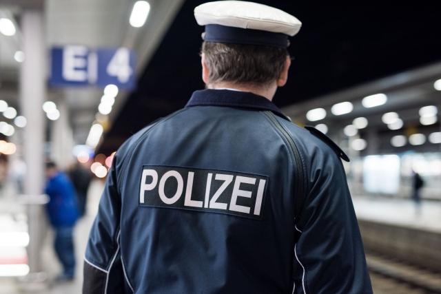 Maßnahme Bundespolizei Bahnhof