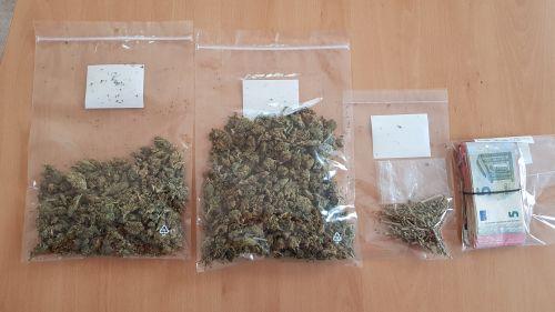 Marihuana in Tüten