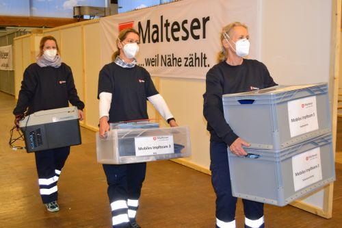 Mobile Impfteams cMalteserRosenheim
