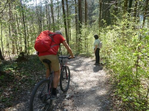 Mountainbike Wandern