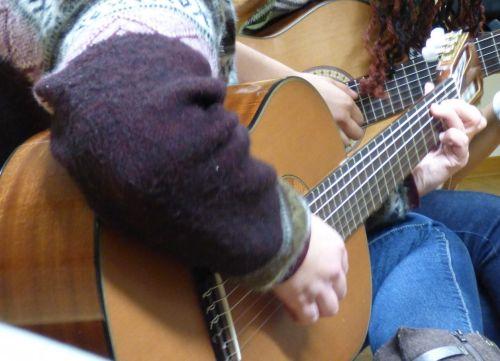 Musik Gitarre Symbolbild