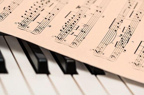 Musik Notenblatt