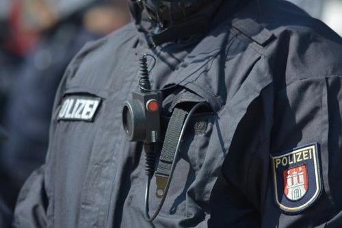 Polizei Demo Bodycam