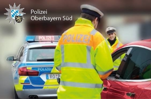 Polizeikontrolle Symbolbild