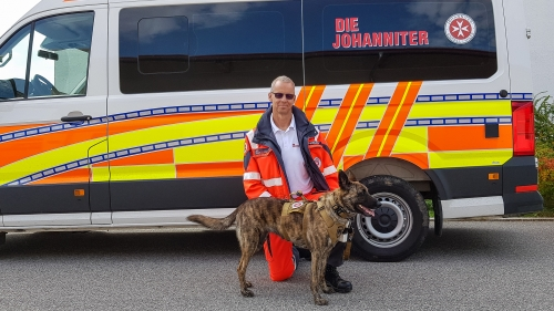 Rettungshunde Joost