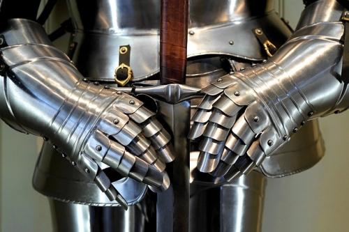 Ritter Rüstung Schwert