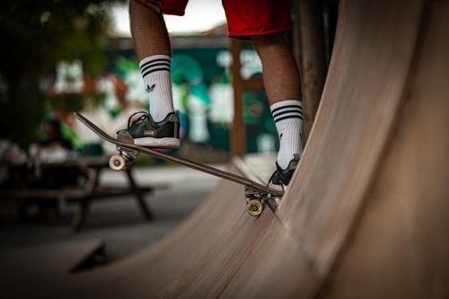 Skateboard Skatepark