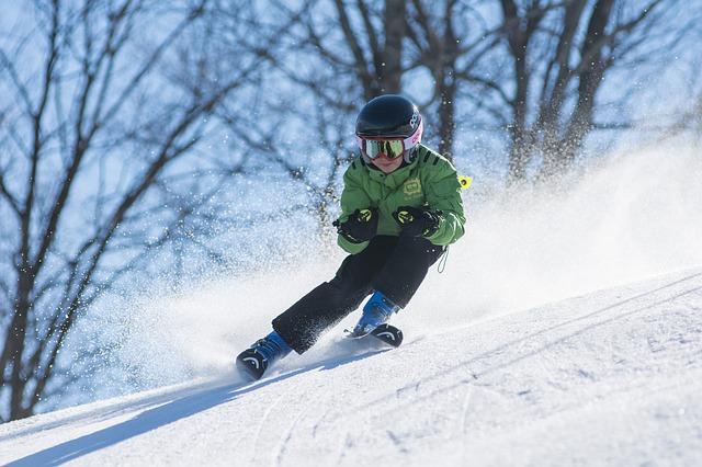 Skifahren Symbol