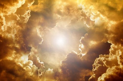 Sonne Wolken Himmel