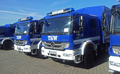 THW Lastwagen