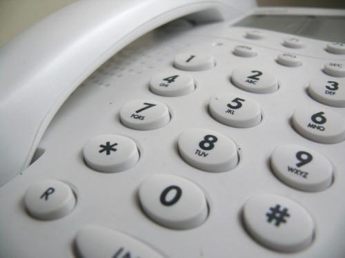 Telefon Tasten Symbolbild