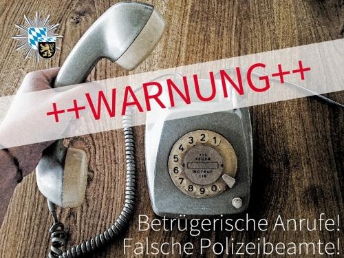 Telefonanrufe Betrueger Warnung