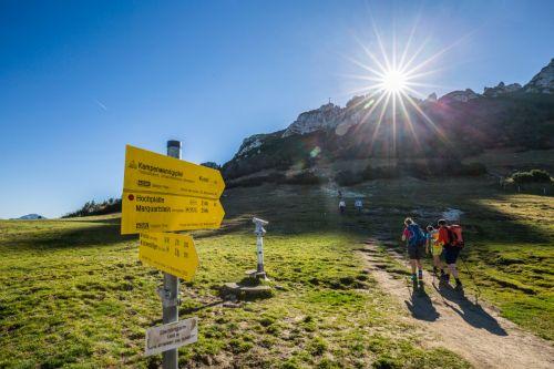 Wandern Kampenwand Chiemsee Alpenland Tourismus