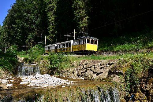 Wendelsteinbahn alte Garnitur Foto Peter Hofmann 2