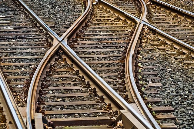 Zug Gleise