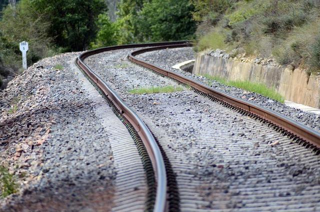 Zug Gleise 2