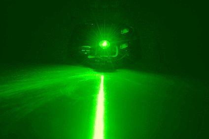 1029 Laser grün