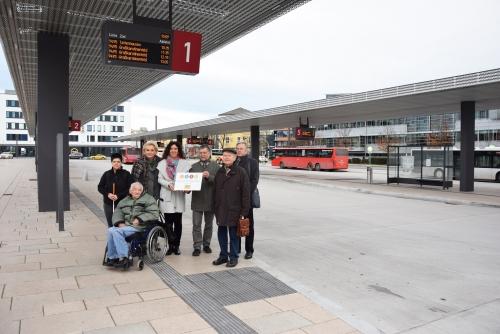 1207 Barrierefrei Busbahnhof