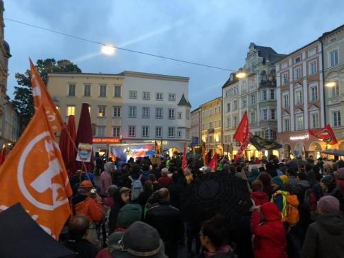 AfD Kundgebung Ro