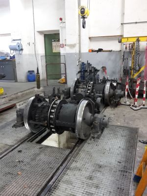 Wendelsteinbahn Arbeiten